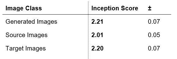 Data Science HSLU, Image Class / Inception Score