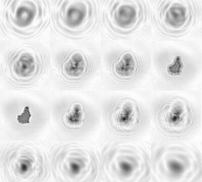 Objekt Lokalisierung und Rekonstruktion in Holographie Bildern