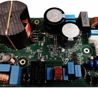 PFC und Oberwellenfilter für Einphasenumrichter