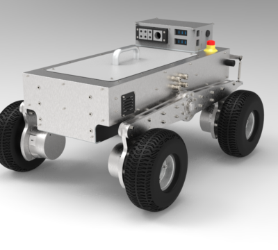 Roboterplattform für Aussenbereich
