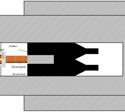 Sensorsignalübertragung über eine Druckbarriere