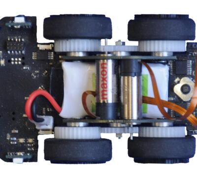 Regelung für autonomes Roboterfahrzeug