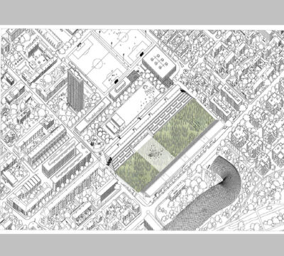 Three Metaphors About Megafield - Project Design in Gurzelen Quarter